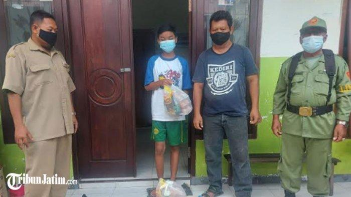 Minta Warga Isolasi Mandiri Tak Keluar Rumah, Kota Kediri Lanjutkan Penyaluran Bantuan Sembako