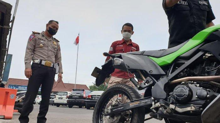 Banyak Pelajar di Kota Mojokerto Terjaring Razia Knalpot Brong, Orangtua Pelanggar Akan Dipanggil
