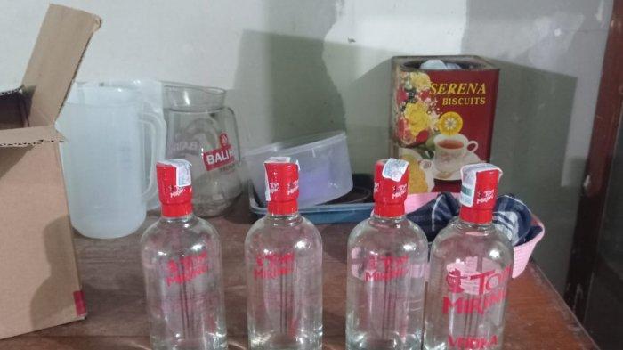 Kafe Penjual Miras di Kediri Diobrak Patroli Unit Sabhara Polsek Grogol