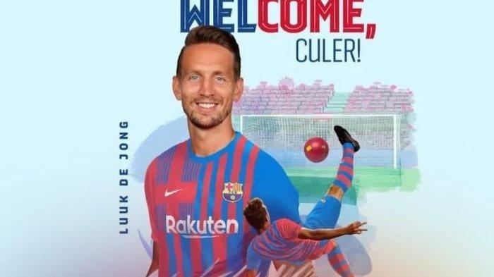 Barcelona mempunyai striker darurat lagi setelah meminjam Luuk de Jong dari Sevilla pada bursa transfer musim panas 2021 ini.