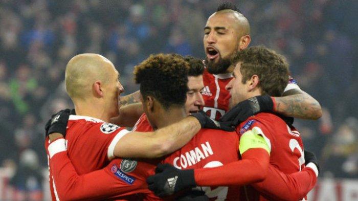 Bayern Muenchen Vs Hamburg SV - Menang Setengah Lusin Gol Dekatkan Bayern Juara Liga Jerman