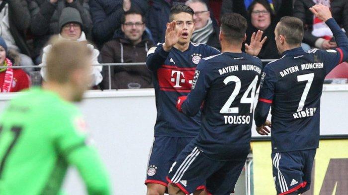 Catat 10 Kemenangan Beruntun, Bayern Muenchen Makin Tak Terkejar di Puncak Klasemen