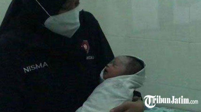 Nur, Bayi Yang Dibuang di Ponorogo Dipindahkan ke Sidoarjo