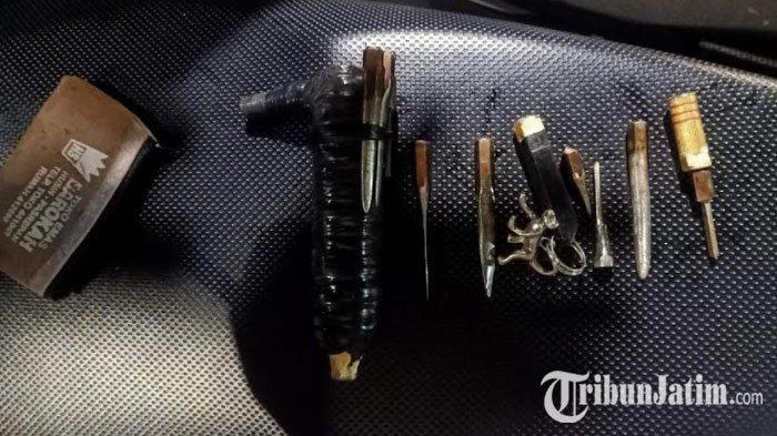 Ketahuan Warga, Maling di Surabaya Pilih Lompat ke Kali Jagir, Bekali Diri dengan Kunci Magnet