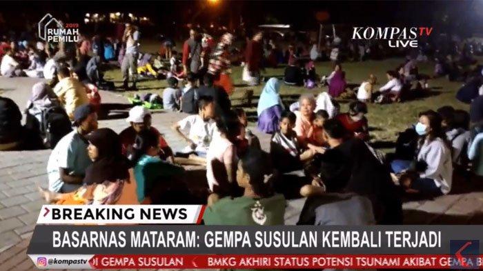 Gempa Lombok, Basarnas Mataram Sebut Korban Luka Sekitar 20 Orang sebab Tertimpa Reruntuhan Bangunan