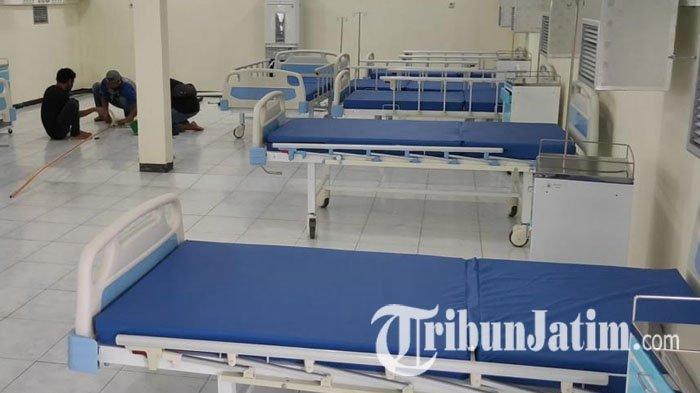 Belum Sebulan, Pemprov Jatim Tambah 1.300 Bed Perawatan Pasien Covid-19, Antisipasi Lonjakan Kasus