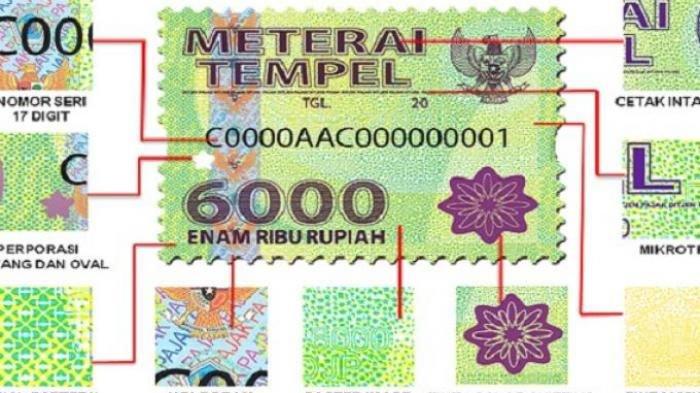 Tarif Bea Materai Rp 10.000 Berlaku per 1 Januari 2021, Bagaimana Nasib 3.000 dan 6.000? Simak!