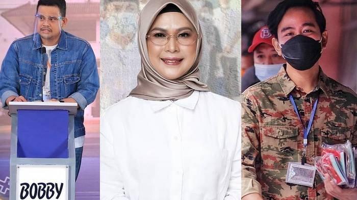 Beda nasib Gibran Rakabuming Raka dan Bobby Nasution, putra-Menantu Jokowi dan Siti Nur Azidah, putri Ma'ruf Amin di Pilkada Serentak 2020.