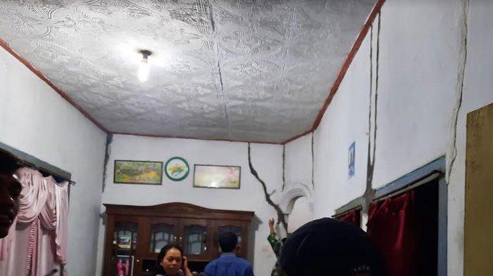 19 Rumah di Lumajang Rusak Akibat Gempa di Blitar