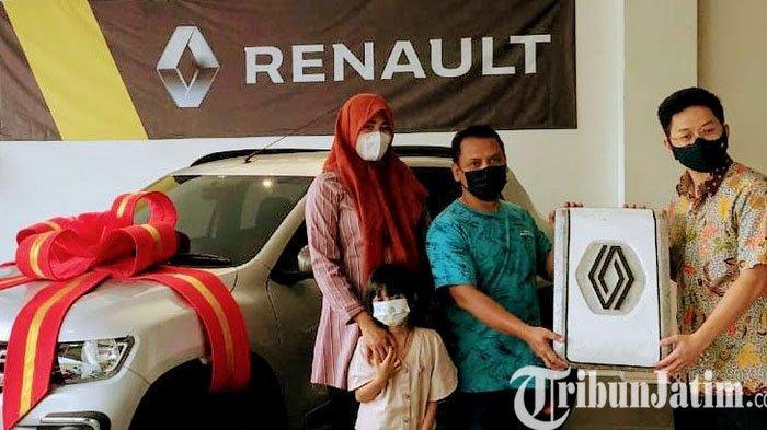 Warga Surabaya Raih Grand Prize Mobil Kwid Dari Renault Super Vaganza
