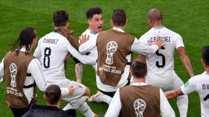 4 Fakta Pertandingan Mesir Vs Uruguay, Akhir KutukanLa Celeste Selalu Kalah di Piala Dunia 2018