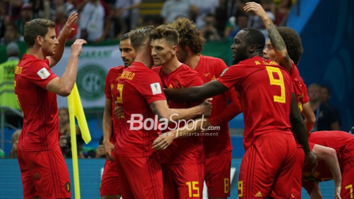 Hasil Piala Dunia 2018 - Belgia Kalahkan Brasil, di Semifinal Tantang Prancis