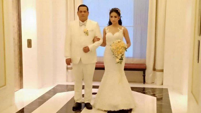 Bella Luna dan FX Eko Hendro Prayitno menikah