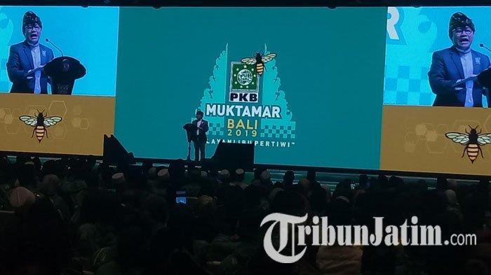 Tak Singgung Soal Jabatan Menteri di Muktamar, Cak Imin Malah Ajak Yusril & Grace Natalie Gabung PKB