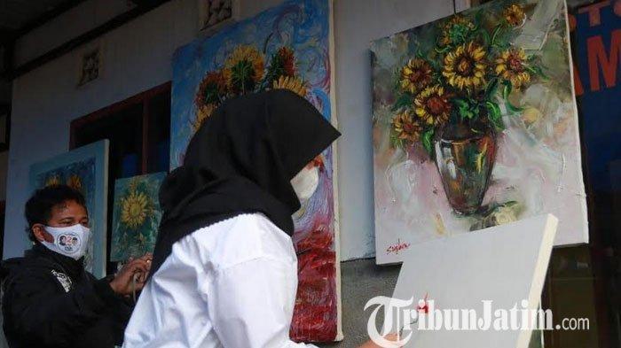Bertemu Pelukis, Ipuk Siapkan Program Pameran Lebih Sering hingga Akademi Lukis