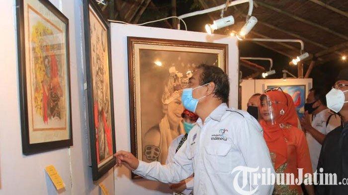 Apresiasi Seniman, Banyuwangi Gelar Pameran Seni Lukis, Fotografi dan Patung Selama Sepekan