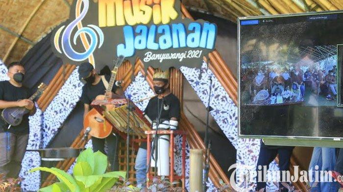 Digelar Hybrid, Musisi Jalanan Antusias di Festival Musik Jalanan Banyuwangi