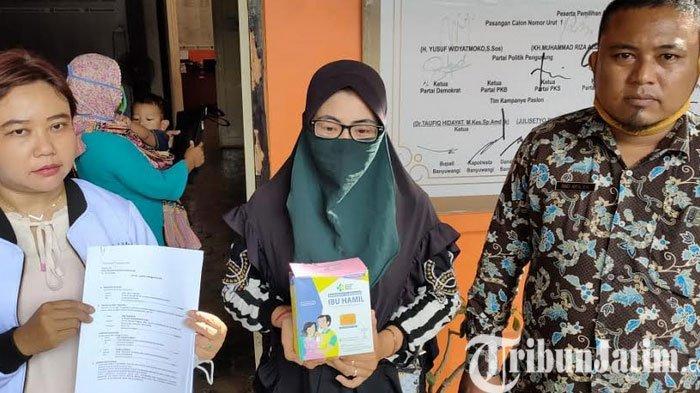 Suplemen Ibu Hamil dari Kemenkes Dibagikan Dalam Kampanye Paslon di Banyuwangi