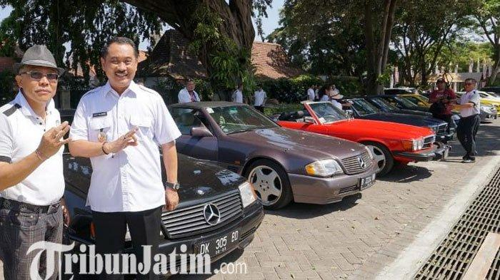 Komunitas Mercedes Benz SL Club Indonesia Singgah di Banyuwangi