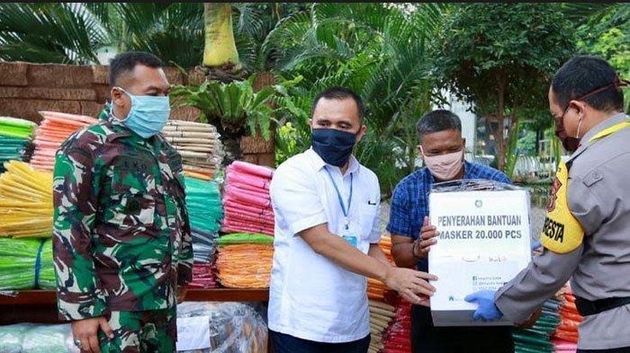 Libatkan UMKM Lokal, Pemkab Banyuwangi Pesan Satu Juta Masker