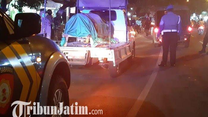 Banyak Warga Bandel, Patroli Gabungan Terus Digelar di Banyuwangi Tertibkan Publik Taati Protokol