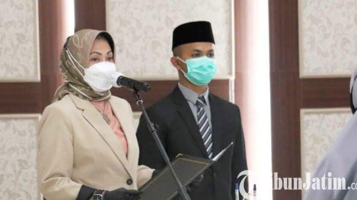 Wali Kota Batu Dewanti Rumpoko Lantik 31 P3K