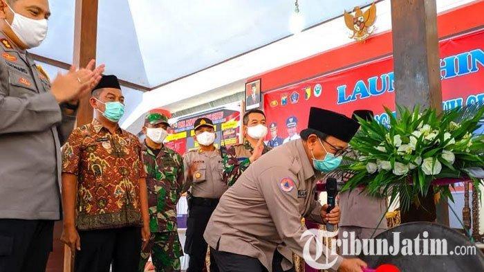 Bupati Blitar Rijanto Resmikan 3 Kampung Tangguh Covid-19 di Tiga Kecamatan di Kabupaten Blitar