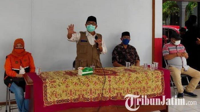 Pantau Penyaluran BST Tahap 2, Bupati Blitar Rijanto Imbau Warga Tak Pakai Uang Untuk Beli Barang