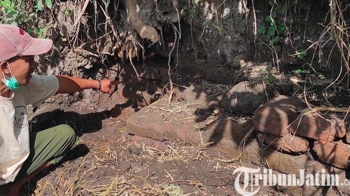 Disparbud Minta BPCB Jatim Observasi Temuan Struktur Bata di Areal Persawahan Kota Blitar