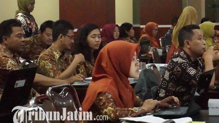 Siapkan Data Terpadu, Diskominfo Kabupaten Blitar Adakan Bimtek Aplikasi One Data untuk OPD