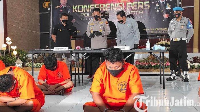 Sebulan, Polisi Bekuk 11 Pengedar dan Sita 22 Gram Sabu di Blitar