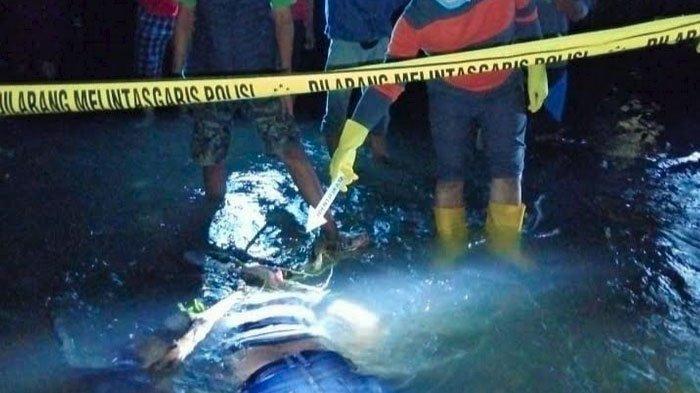 Diduga Terpeleset Saat Mancing, Pria di Blitar Ditemukan Tewas Hanyut di Sungai Lahar