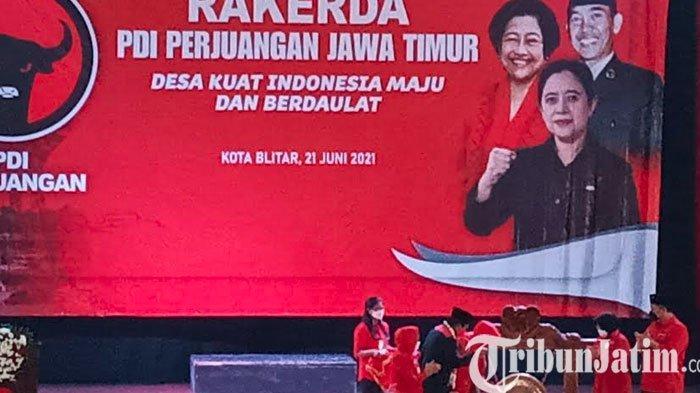 Rakerda PDIP Jatim di Kota Blitar Juga Bahas Pemetaan dan Strategi Menghadapi Pemilu 2024