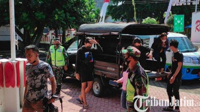 Pasca Kasus Prostitusi Online Anak, Petugas Gabungan Razia Tempat Kos di Kota Blitar