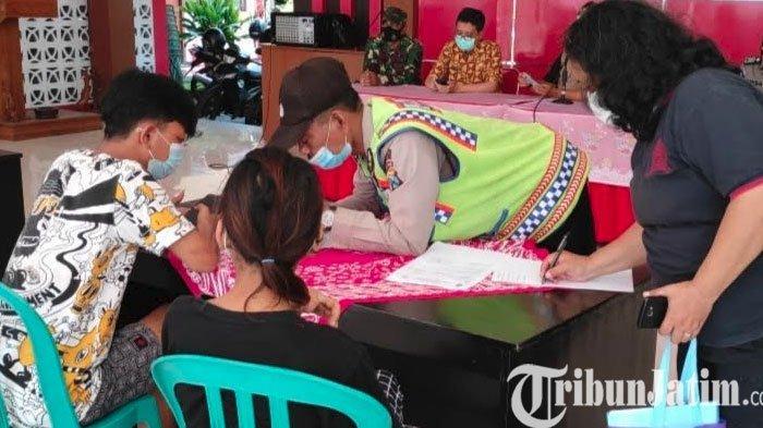 Razia Tempat Kos di Kota Blitar, Petugas Jaring 22 Pasangan, 4 di Antaranya di Bawah Umur