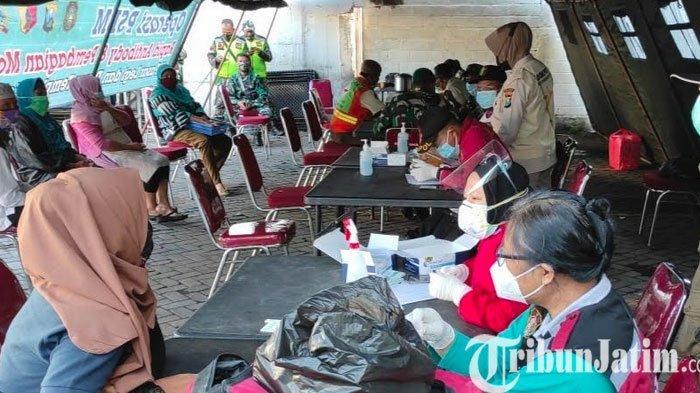 124 Orang Terjaring Rapid Test Massal Hari ke-2 di Kota Blitar, 1 Orang Reaktif