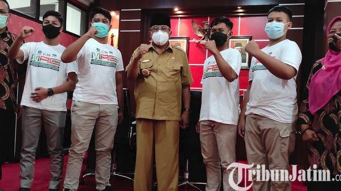 Wali Kota Santoso Dukung Tim Robotik MTsN 2 Kota Blitar Jadi Juara Robotic Competition