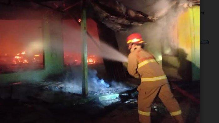 Dua Rumah di Bojonegoro Ludes Terbakar, Kerugian Capai Rp 600 Juta Lebih