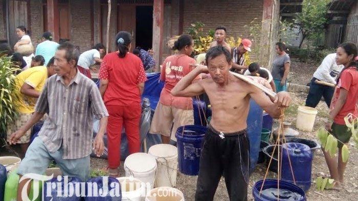 Kemarau Panjang, 17 Kecamatan di Bojonegoro Terdampak Kekeringan dan Kekurangan Air Bersih