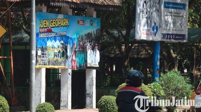 Publikasi Ijen Geopark  Bondowoso Lewat Papan Spanduk dan Baliho Masih Minim