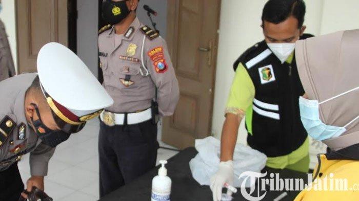 Ratusan anggota Polres Bondowoso Jalani Tes Urine
