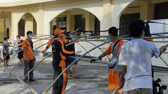 Antisipasi Penumpukan Pasien Covid-19, RSU Dr Koesnadi Bondowoso Dirikan Tenda Darurat
