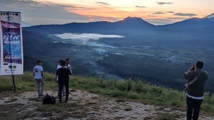 Kaldera Ijen Purba Terlihat Dari Puncak Megasari, Bakal Jadi Lanscape Site Ijen Geopark