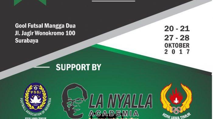 Futsal Antar SMA Perebutkan Trofi La Nyalla Academia