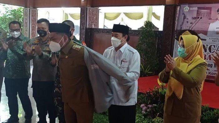 Bupati Gresik Ajak Para Mantan Ikut 'Gerbang Pahlawan' di Pendopo Gresik
