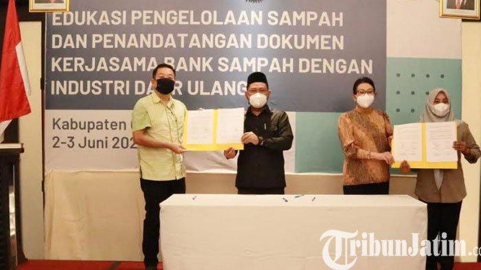 Bupati Gresik Gus Yani Bersama Dirjen PSLB3 Sepakat Kelola Sampah