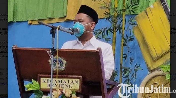 Safari Ramadhan di Benjeng, Bupati Gresik dan Wakil Bupati Gresik Bicara Pengendalian Kali Lamong