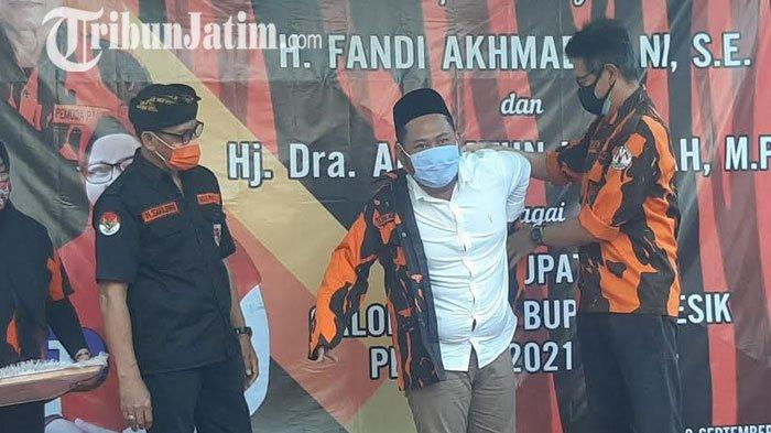 Lagi, Pasangan Gus Yani – Ning Min Dapat Dukungan Pemuda Pancasila di Pilkada Gresik