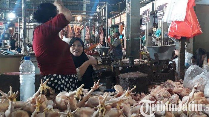 Gugatan Menang di MA, Pedagang Ayam Potong di Pasar Baru Gresik  Ingin Segera Tempati Kiosnya