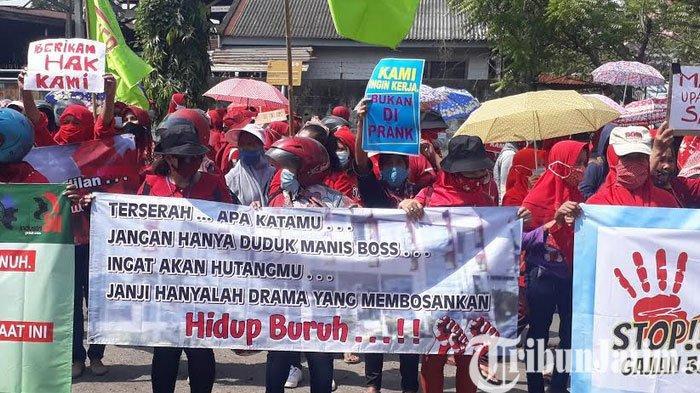 Pemkab Gresik Memberi Subsidi Upah Bagi Pekerja di PT Newera